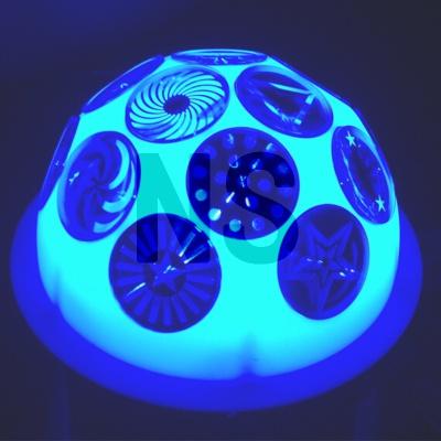 LED图案水晶灯