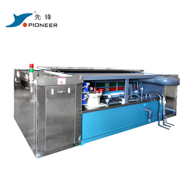 Manual Gravure Cylinder Copper Plating Line