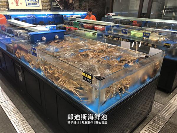 大型海鲜餐厅海鲜池组