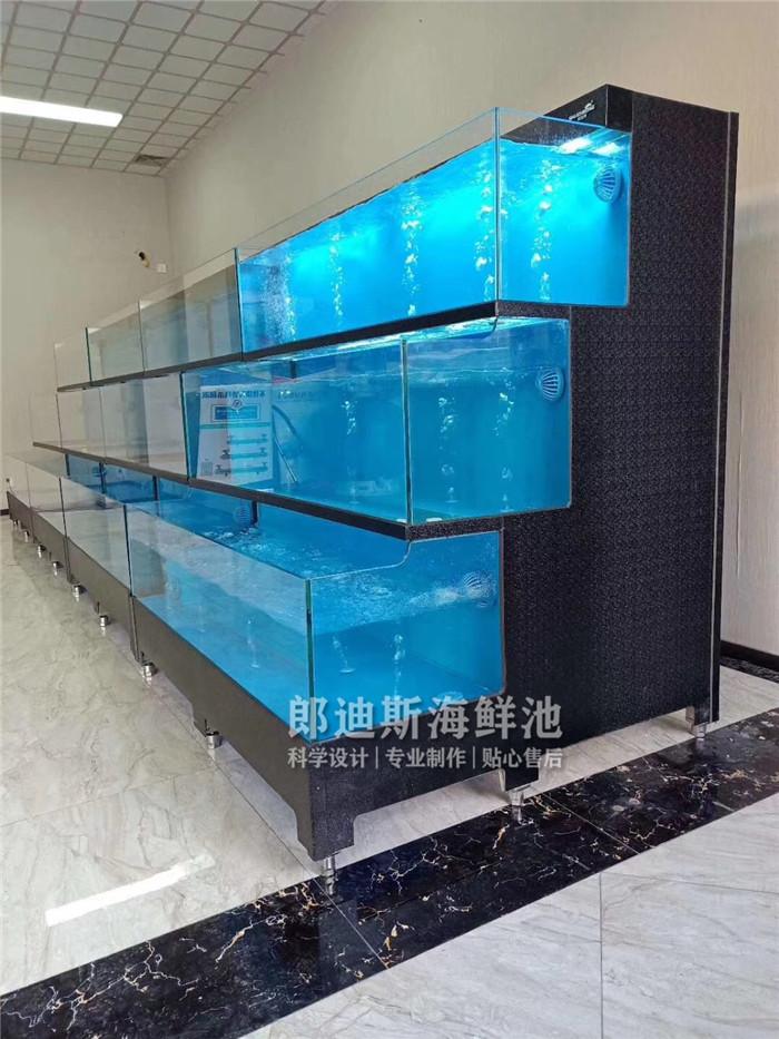 张家界定做饭店海鲜鱼池虾缸 专业厂家定制