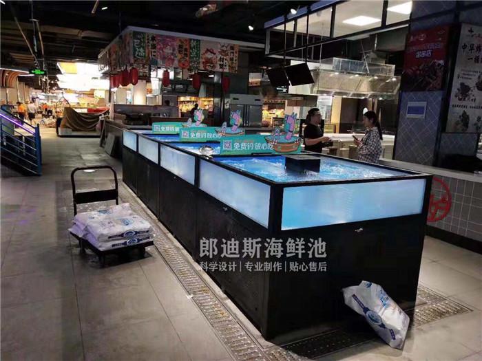 湘潭定做饭店海鲜鱼池虾缸贝类池 专业厂家定制