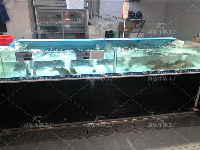 超市海鲜池定制厂家,长沙海鲜鱼缸设计