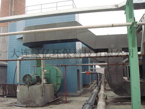 封丘县万隆化工厂导热油炉烟气脱硫