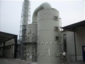 大连东达环境废油脂处置有限公司喷淋设备净化效果显著 得到客户好评
