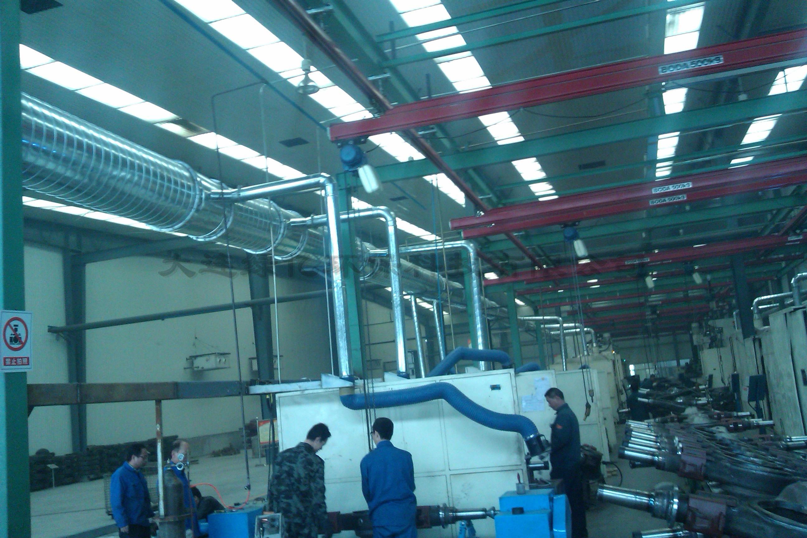东营桥箱集团流水线整体净化项目