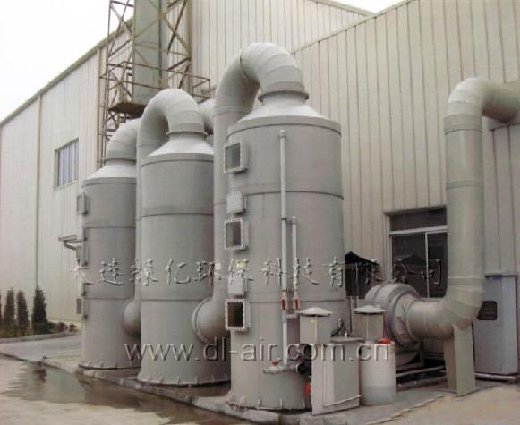 大连顺发建筑防水技术有限公司废气处理设备工程顺利验收