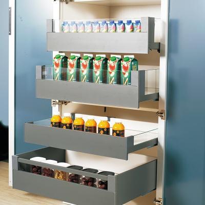 高立柜X款薄身側板系列組合