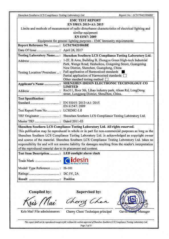 EMC report of IS-101_LCS170421006BE-EMC Report-15