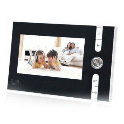 7'' Handfree Color Video Doorphone With a Super Monitor