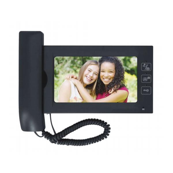 7''Handset-Free and Handset Color Video Doorphone