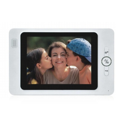 8'' Handfree Color Video Doorphone With a Super Monitor