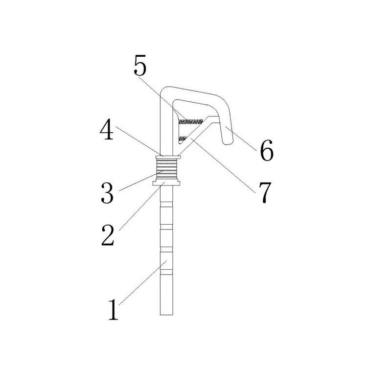 一种汽车座椅头枕杆的制作方法