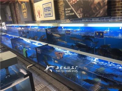 萍乡海鲜酒楼/饭店海鲜鱼池定制