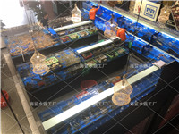 江西九江海鲜饭店酒楼海鲜池鱼缸