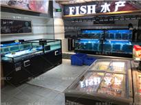 江西新余社区生鲜超市海鲜池鱼缸定制