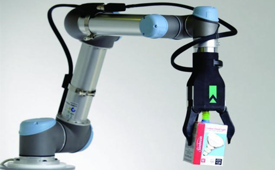类似皮肤的传感器,为机器人抓手提...