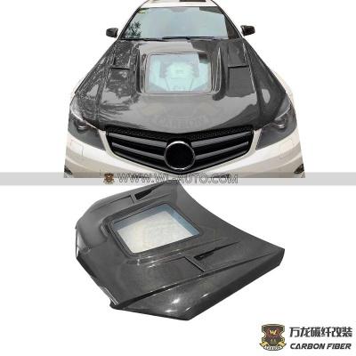 奔驰W204 C63机盖 透明款