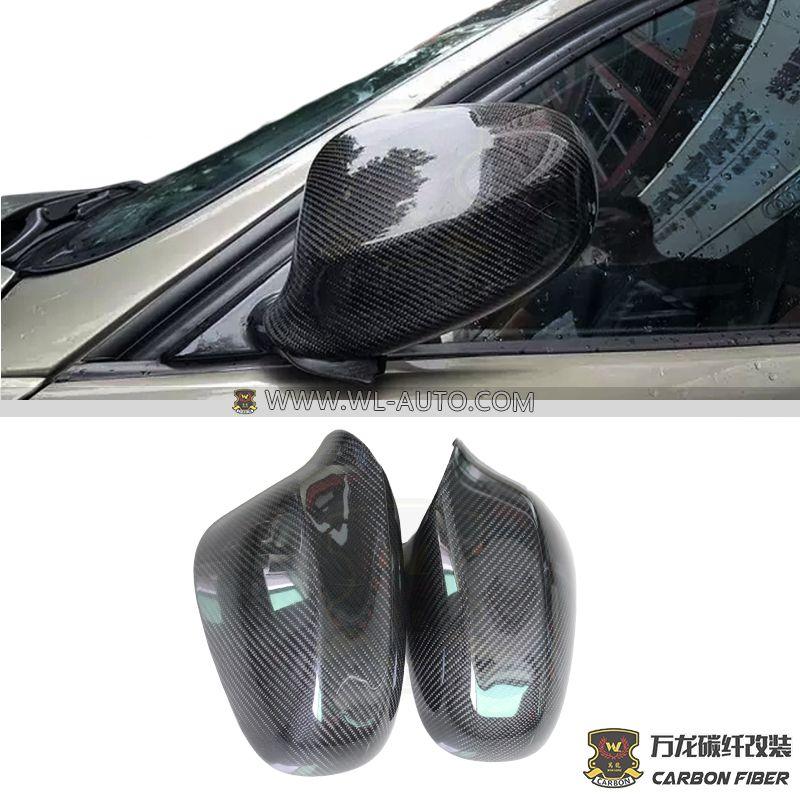 宝马E90 后期后视镜罩 黏贴式