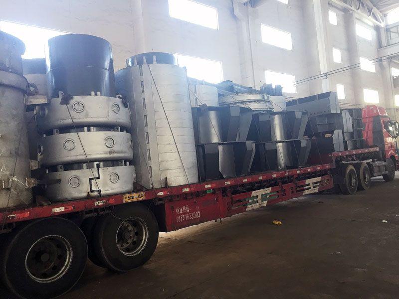 矿热路成套设备发货中