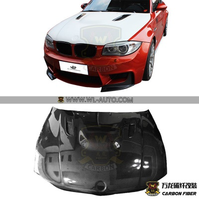 BMW 1M E82 ENGINE HOOD ASP