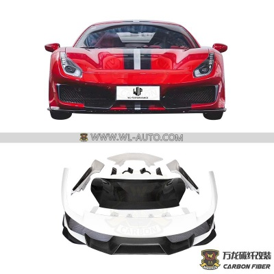 PISTA CAR BODY KIT(INCREASE REAR LIP)AIR FERRARI 488