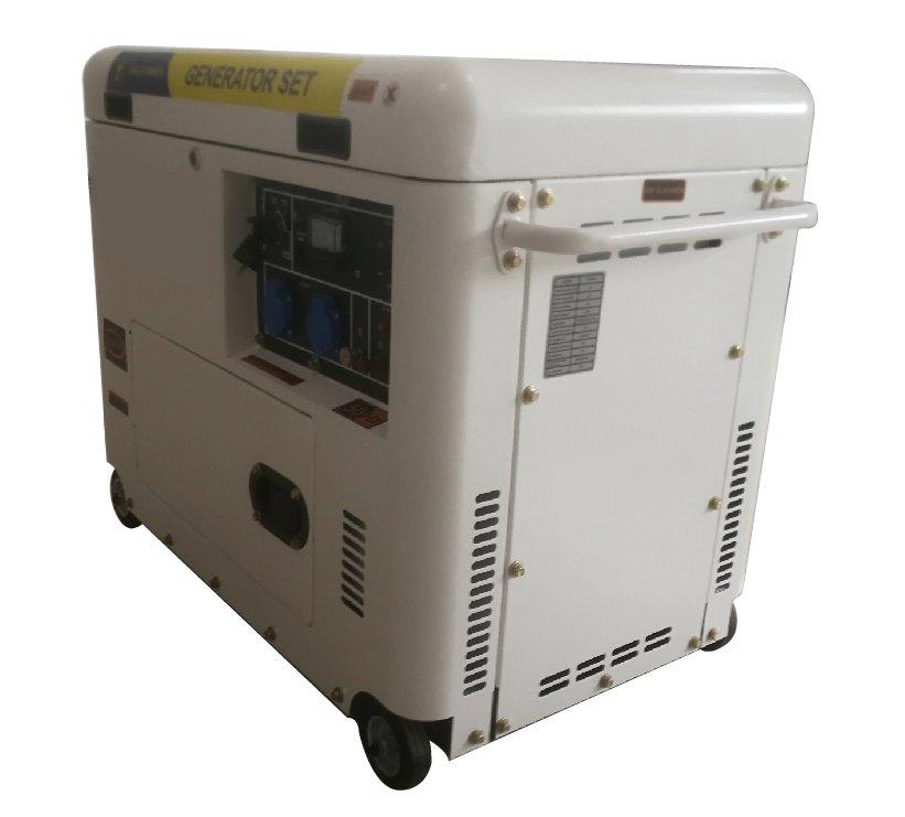 靜音款可移動式發電機組Silent Portable Generator