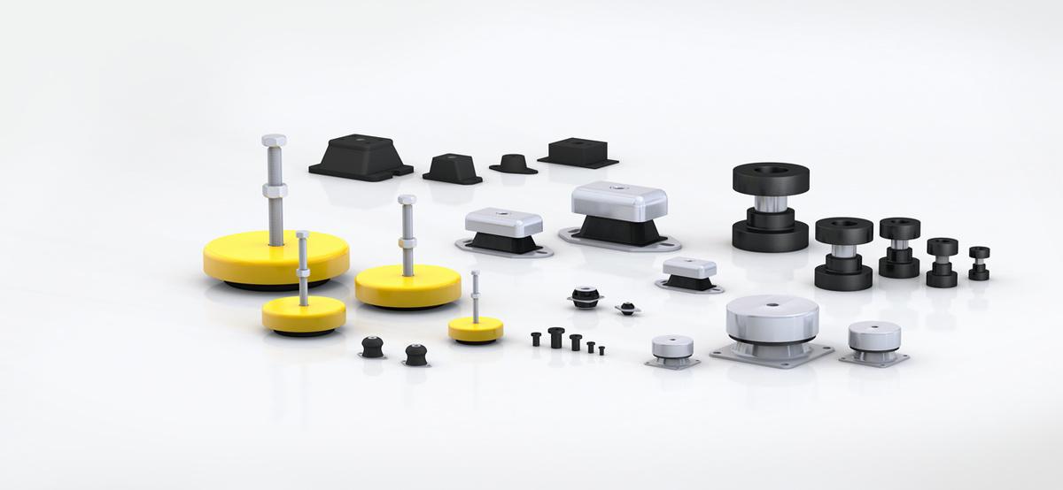 橡胶减震器的特点及缺点