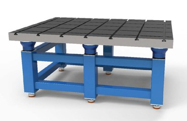 重型设备减震平台