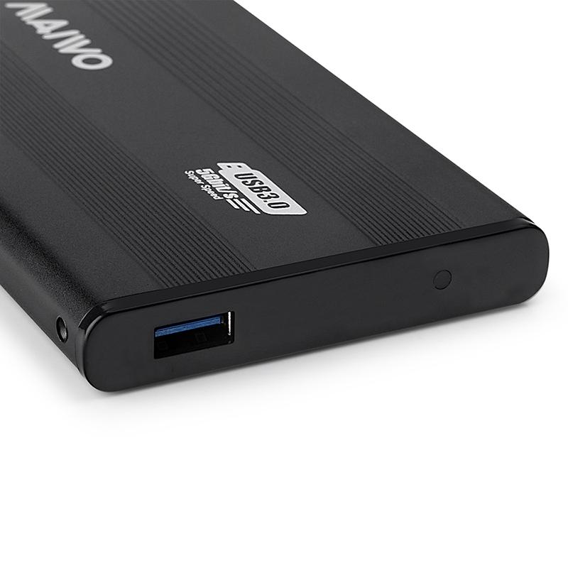 K2501AU3S Aluminum USB3.2 GEN1 to SATA  Enclosure