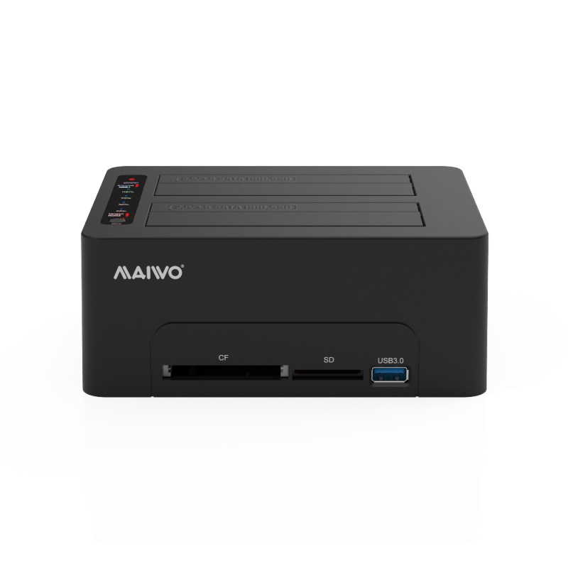 K3082CR 2.5''/3.5'' USB3.0 dual bay docking