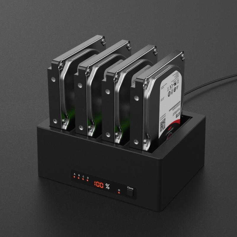 K3084A 1:3 USB3.0 Clone Docking station