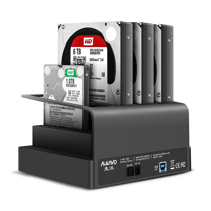 K305BU3S USB3.0 to 4SATA interface Docking Station