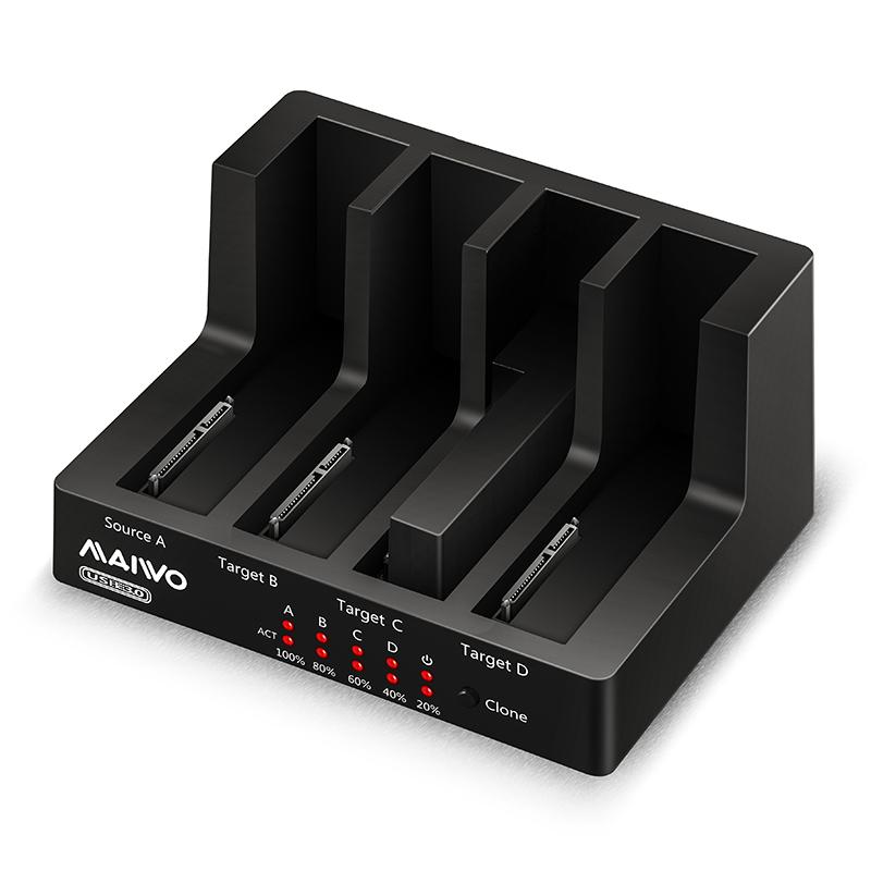 K3094 1:3 USB3.0 Clone Docking station