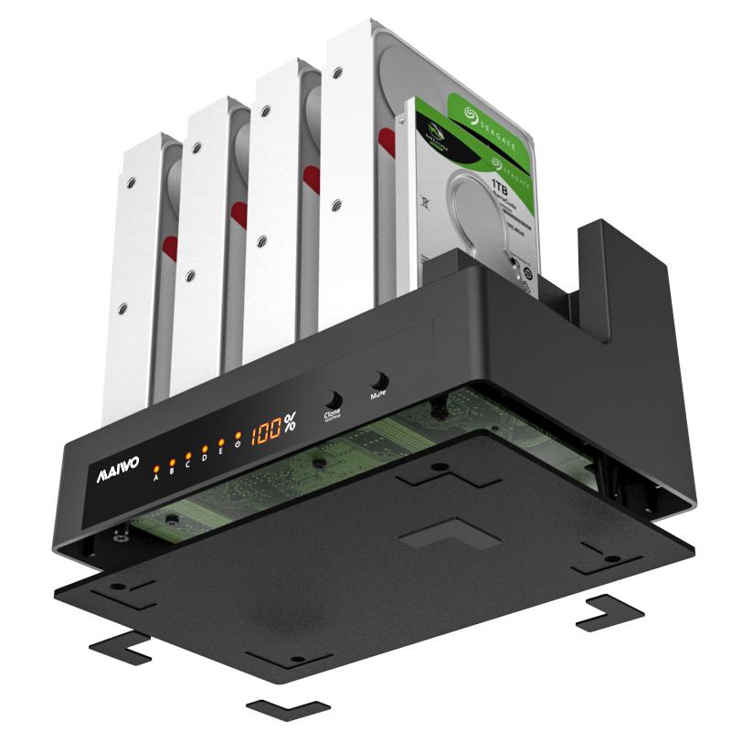 K30945A 1:4 USB3.0 Clone Docking station