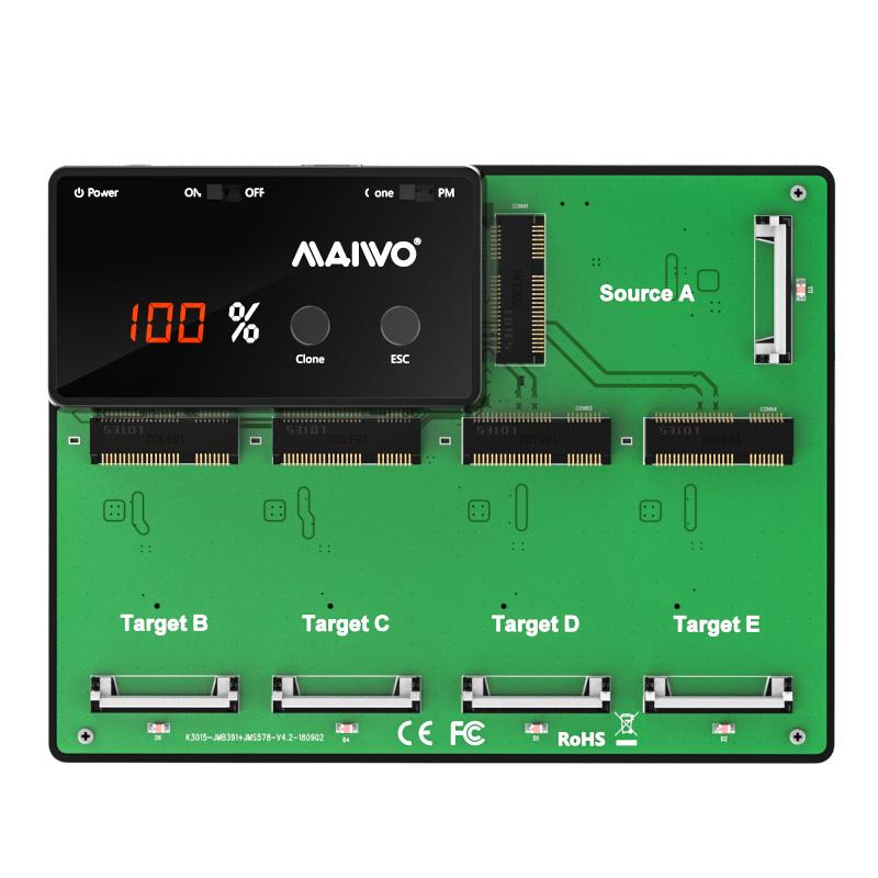 K3015 5 Bay mSATA SSD Duplicator
