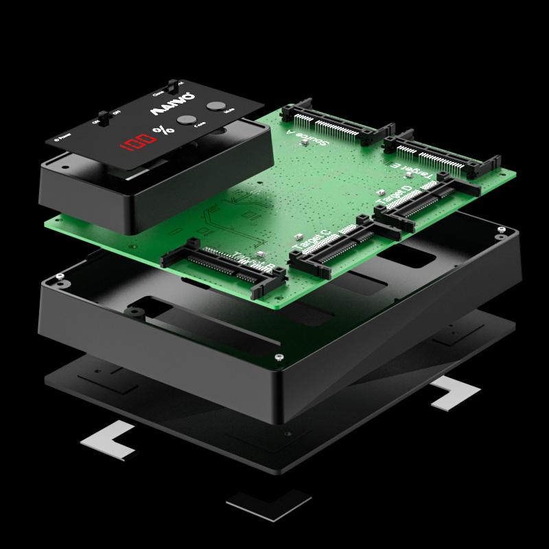K3015CFast 5 Bay CFast SSD Duplicator