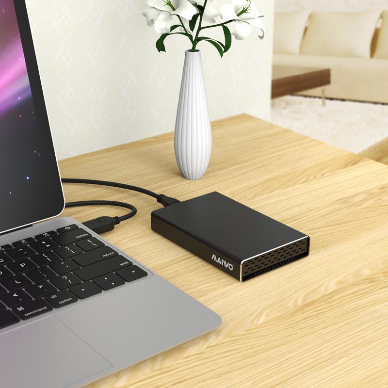 K2527AS USB3.2 GEN2 TypeC to SATA HDD Enclosure