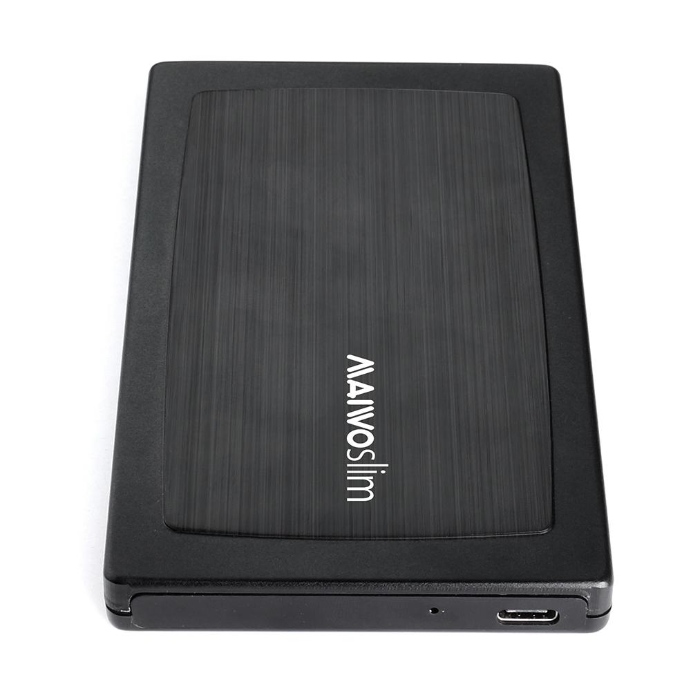 K2588G2 PlasticTypeC USB3.1 GEN2 External HDD Enclosure