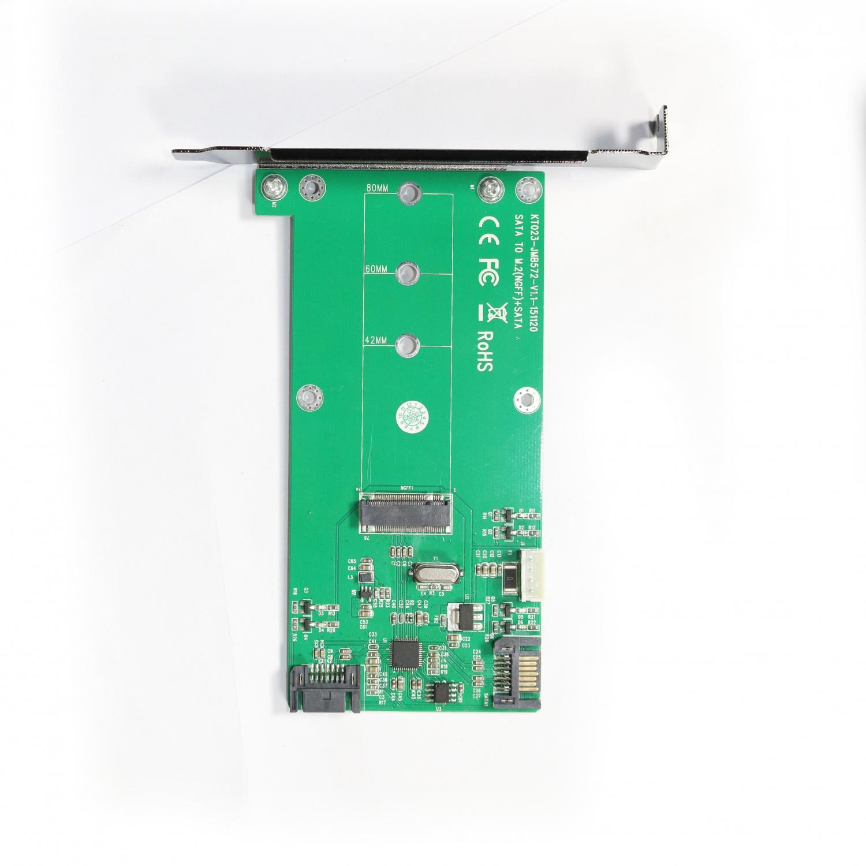 KT023A SATA TO M.2 & SATA Card