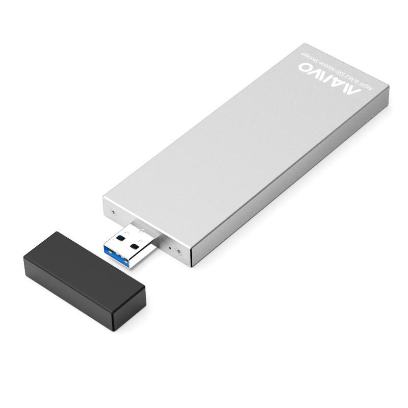 K17N USB3.2 GEN1 TO Single bayM.2(NGFF)SSD Enclosure