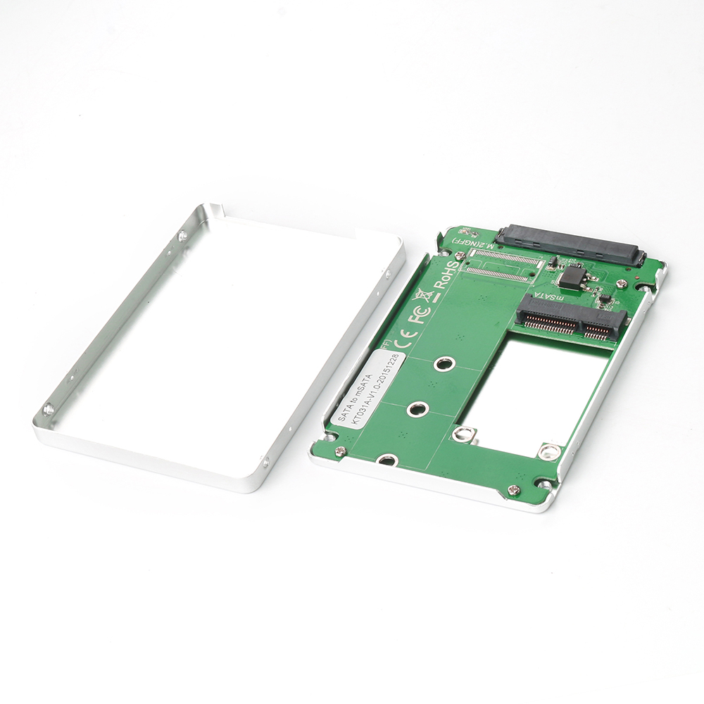KT031A SATA to mSATA SSD enclosure