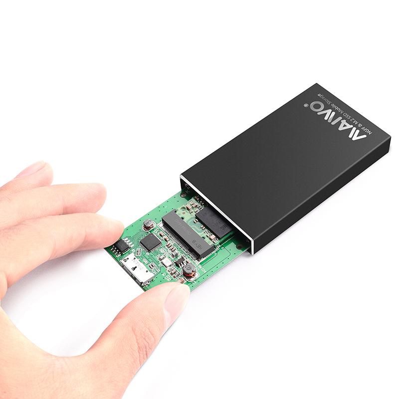 K1642N USB3.2 GEN2 TO Single bayM.2(NGFF)SSD Enclosure