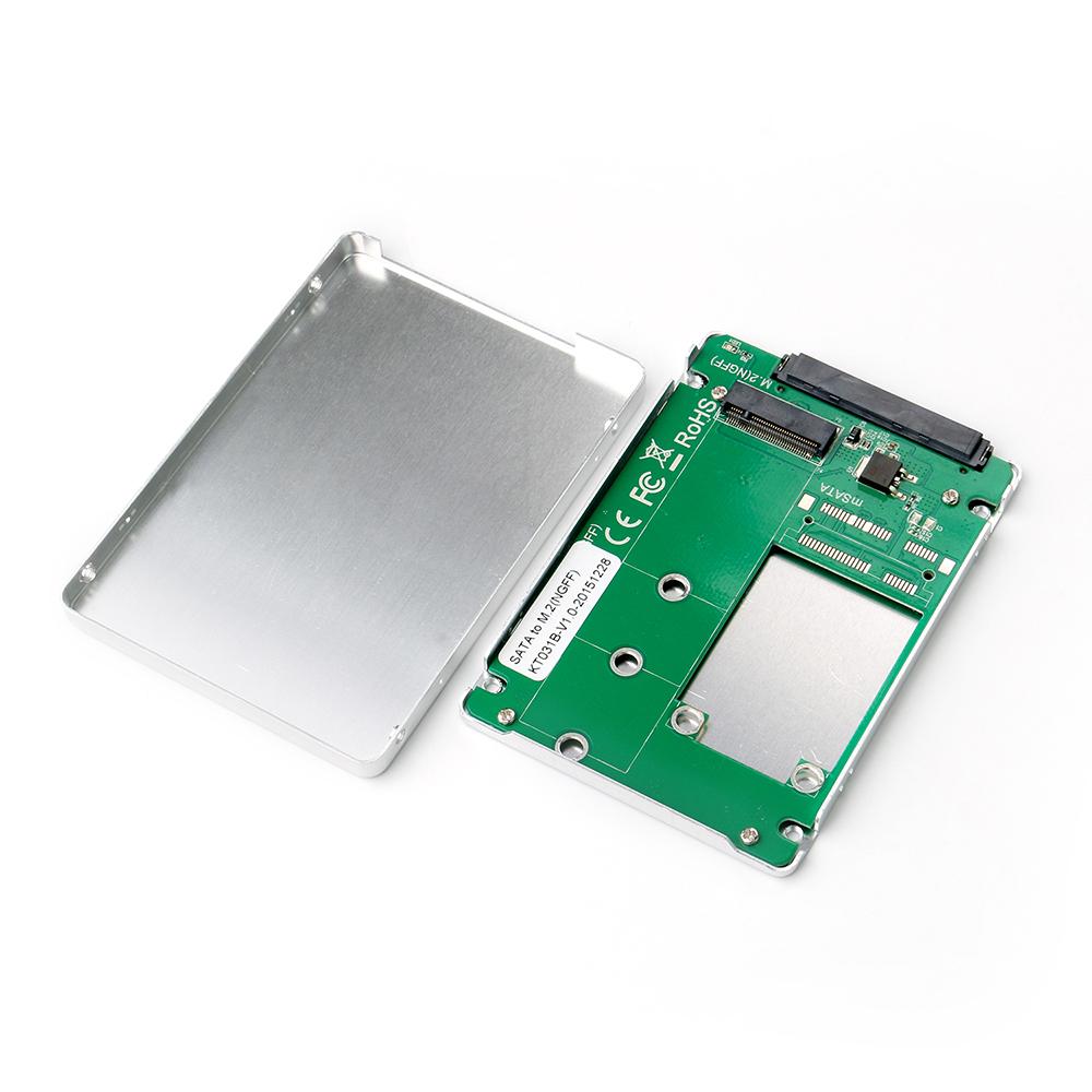 KT031B SATA to M.2(NGFF) SSD enclosure