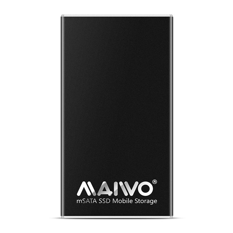 K1642M USB3.2 GEN2 TO Single bay mSATA SSD Enclosure