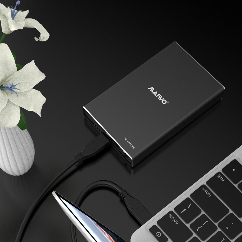 K2527BN USB3.2 TypeC to 2bayM.2(NGFF)SSD Enclosure