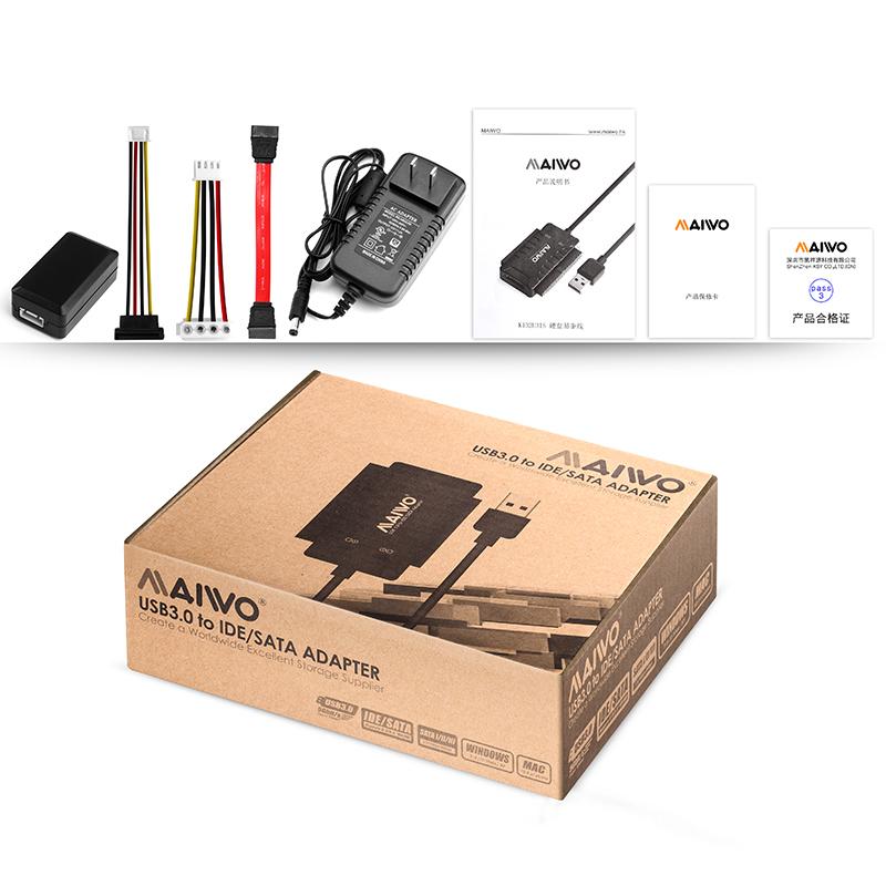 K132U3IS  USB3.0 TO IDE+ SATA HDD Adapter