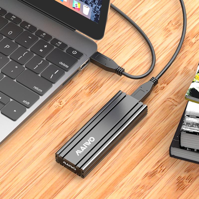 K1686P TypeC USB 3.1GEN2  to PCIe NVMe Enclosure