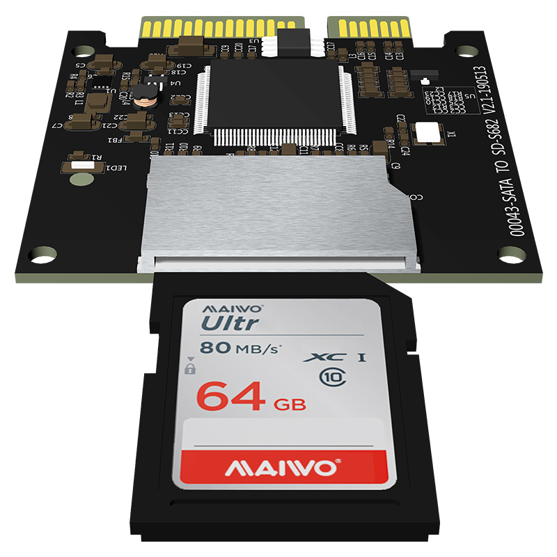 KT043 SATA to SD Card Adapter