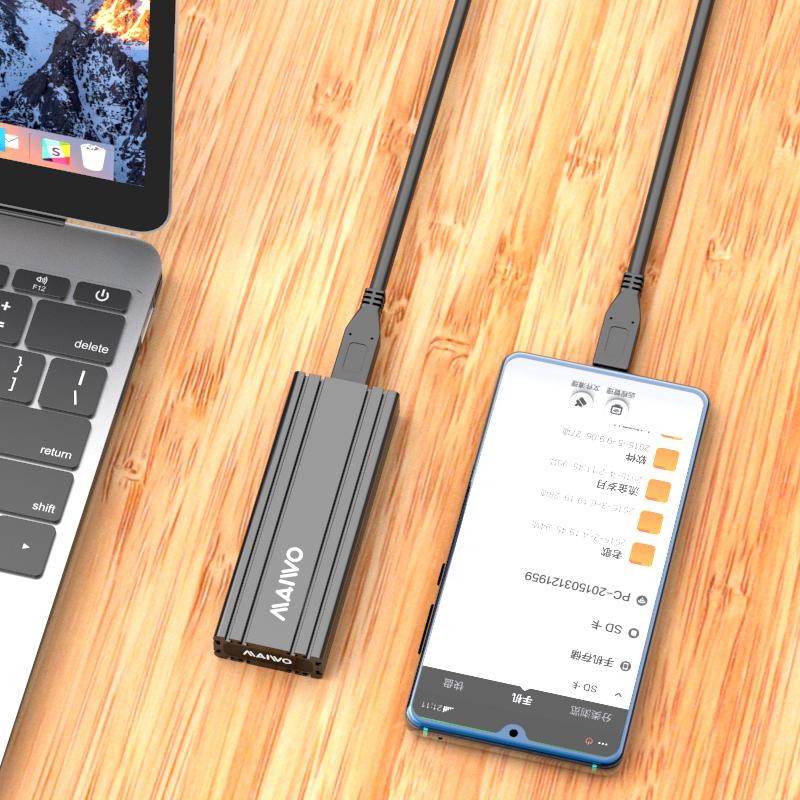 K1686S TypeC USB3.1 GEN2 single bay M.2(NGFF)SSD Enclosure