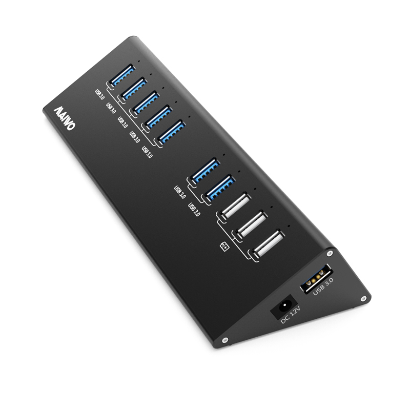 KH110 USB3.0 Hub with 10port